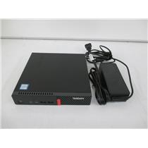 Lenovo 10MV000UUS ThinkCentre M910q Tiny Desktop i7-7700T 8GB 256GB M.2 W10P