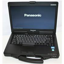 "14"" HD Panasonic ToughBook CF-53 MK3 Core i5 3rd 4GB 500GB WiFi BT DVD <600hrs"