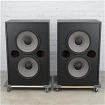 "2 JBL 4648A-8 Low Frequency System 2x15"" Speaker Sub Cabinets 2226JPL #40211"