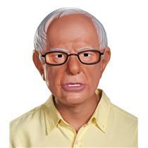 Bernie Sanders 1/2 Vacuform Plastic Mask Adult Costume Accessory