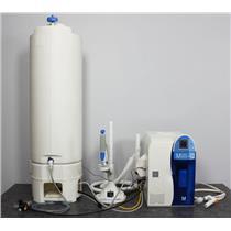 Used: Millipore Milli-Q Direct 16 Water Purification System Q-Pod Dispenser Ultrapure