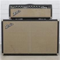 "1967 Fender Bandmaster AB763 Guitar Amp Head & 2x12"" Cabinet Jensen C12-N #40467"