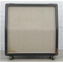 1972 Marshall Large Check 4x12 Slant Cabinet w/ G12-65 Speakers #40429