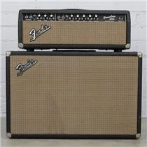 1964 Fender Tremolux-Amp AB763 Tube Amplifier & 2x12 Cabinet Jensen #40458