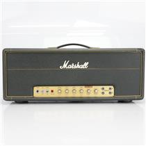 1972 Marshall 50w Lead 4 Input Hand-Wired Guitar Tube Amp Head #40453