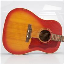 1967 Gibson J45 ADJ Acoustic Guitar Cherry Sunburst w/ Hard Shell Case #40508