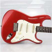 1965 Fender Stratocaster Strat Rosewood Candy Apple Red Refin #40151