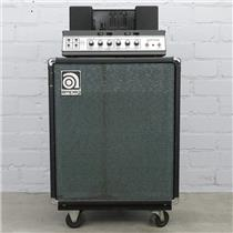 "1970's Ampeg B-15N Portaflex Fliptop 1x15"" Tube Bass Amplifier Blackline #38177"