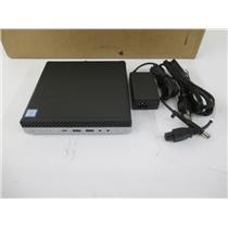 HP 15V88US#ABA ProDesk 600 G5 Desktop Mini Core i5-9500T 8GB 256GB M.2 W10P