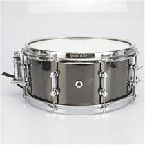 "Ahead 13"" x 6"" Black Chrome on Brass Snare Drum #41064"