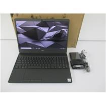 """DELL X99KC MOBILE PRECISION 7550 LAPTOP CORE I7-10850H 32GB 512GB 15.6"""" W10P"""