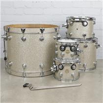 "DW Collectors Series 5pc Maple Drum Set Broken Glass 24"" 16"" 13"" 10"" 8"" #41084"