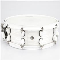 "Mapex Mydentity Series 14"" x 5"" White Ribbon Pearl Snare Drum #41112"