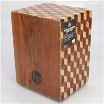 Latin Percussion LP8800B Peruvian Solid Wood 3D Cube 6x String Cajon #41119