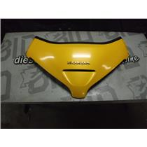 2001 HONDA GOLDWING GL1800 FAIRING NOSE COVER EMBLEM YELLOW GL OEM