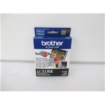 Brother LC51BK Innobella Black Ink Cartridge - SEALED