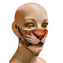 Child Reusable Halloween Face Cover Tiger Design Cute Face Mask