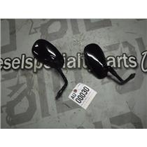 2014 VICTORY HIGHBALL OEM GLOSS BLACK MIRRORS RIGHT LEFT