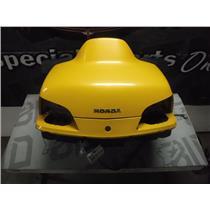 2001 HONDA GOLDWING GL1800 FAIRING TRUNK SEAT LID STORAGE LUGGAGE (YELLOW) OEM