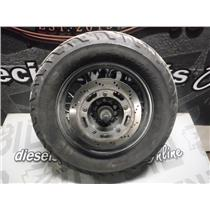 2006 TRIUMPH BONNEVILLE AMERICA OEM REAR SPOKE WHEEL TIRE DUNLOP 170/80-15M/C