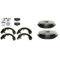Brake Drum Shoes Wheel Cylinders and Spring Kit Saturn SC SL SE series 1991-2002