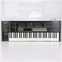 AKAI AX60 Polyphonic Analog Synthesizer Synth Keyboard #42002