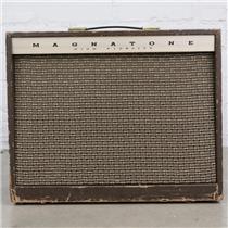 1960's Magnatone Custom 410 Tube Combo Guitar Amplifier #41571