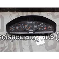 1992 - 1995 MERCEDES S600 OEM V12 GAUGE CLUSTER LOW MILEAGE