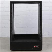 Odyssey 14 Space 14U Black Carpeted Studio Rack Case w/ Wheels CRS14W #42201