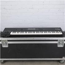 Korg 01/W Pro 76-Key Workstation Synthesizer w/ A&S Road Case #42231