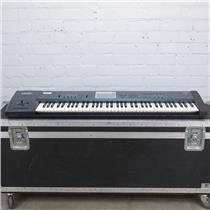 Korg Triton Extreme 76 Workstation / Sampler Keyboard w/ A&S Road Case #41606