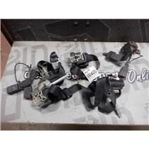 1992 - 1995 MERCEDES S600 SEDAN BLACK SEAT BELT SET ( COMPLETE ) OEM