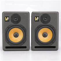 KRK V8 Powered Active Studio Monitors Speakers #42353