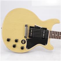 2007 Gibson Custom Shop VOS Les Paul Special Double Cut TV Yellow Guitar #42370