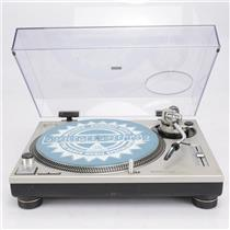 Technics SL-1200MK2 Turntable w/ Dust Cover & Stanton Groovemaster II #42283
