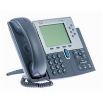 Cisco CP-7961G 7961 Programmable Button (Line) VoIP Unified IP Phone SCCP RENEW