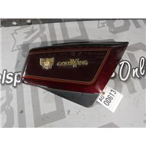 1984 HONDA GOLDWING 1200 GL1200 INTERSTATE OEM RIGHT SIDE COVER (WINE) COLOUR
