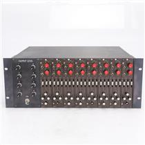 8 Audix IB01 mkIII Mic Preamp Equalizer Console Modules in Powered Rack #41801