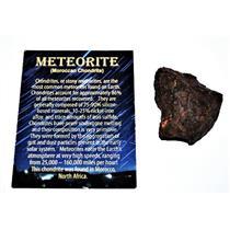 Chondrite MOROCCAN Stony METEORITE Genuine 60.3 grams w/ COA E83