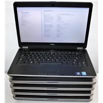 """5x Lot 14"""" WXGA Dell Latitude E6440 Core i5 4th 4GB Intel HD Graphics 4600 READ"""
