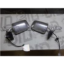 1995 - 1997 DODGE RAM 2500 3500 OEM POWER HEATED CHROME MIRRORS GOOD SHAPE