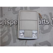 2010 - 2011 FORD F150 XLT LARIAT OVERHEAD CONSOLE SUNGLASS DOME LIGHT (BEIGE)