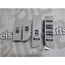 2010 - 2011 FORD F150 XLT CREWCAB WINDOW DOOR LOCK SWITCHES BEZEL BEIGE OEM