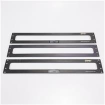 3 Protologic 2 Unit Expansion Rack Panels for E-MU Proteus/1 XR #43177