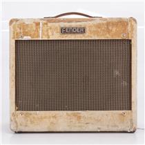 """1954 Fender """"Deluxe"""" 5D3 Tube Combo Guitar Amplifier #40370"""