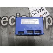 2003 - 2004 DODGE 3500 5.9 24V DIESEL 4X4 TRANSFER CASE MODULE P56028589AC