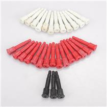 Switchcraft 49202 3 Conductor Dummy Plugs Red White Black #43354
