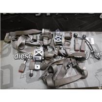 2010 - 2011 FORD F150 XLT LARIAT CREWCAB OEM SEAT BELTS - COMPLETE SET (BEIGE)