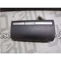 2007 - 2009 GMC 3500 2500 SLT UPPER GLOVE BOX IN DASH CUBBY CHARCOAL GREY