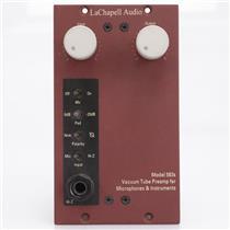 LaChapell 583s 500 Series Vacuum Tube Preamp Mic Pre DI #42524